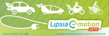 lipsia e-motion - die Elektromobilitätsrallye im Herzen Deutschlands